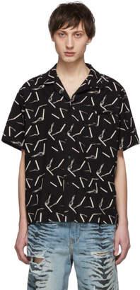 Amiri Black Smoke Shirt