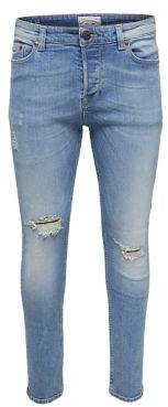 ONLY & SONS Blue Loom Slim-Fit Jeans