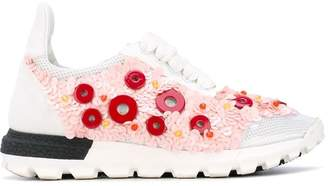 NO KA 'OI No Ka' Oi button embellished sneakers
