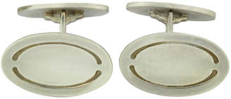 One Kings Lane Vintage Modernist Jensen Sterling Cufflinks