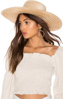 Janessa Leone Elsa Boater Hat