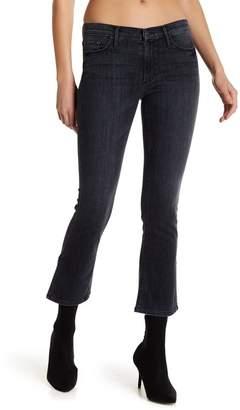 Black Orchid Naomi Split Seam Bootcut Crop Jeans