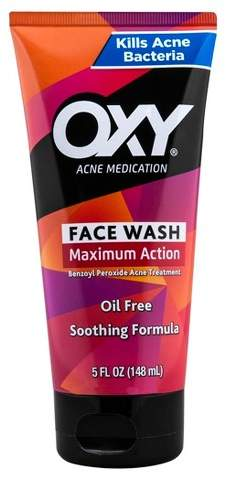 OXY Max Action Advanced Face Wash - 5 oz