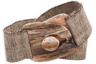 Suzi Roher Woven Waist Belt