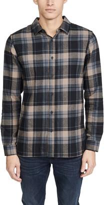 NATIVE YOUTH Long Sleeve Azari Check Shirt