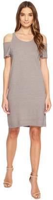 LAmade Zadeth Cold Shoulder Tee Dress Women's Dress