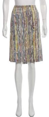 Calvin Klein Collection Digital Printed Knee-Length Skirt