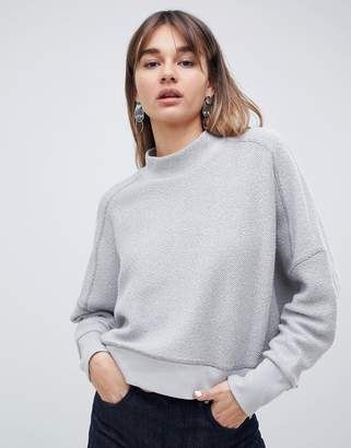 Asos inside out sweatshirt