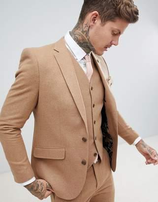 Gianni Feraud Slim Fit Wool Blend Suit Jacket