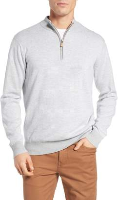 Peter Millar Crown Regular Fit Half Zip Pullover