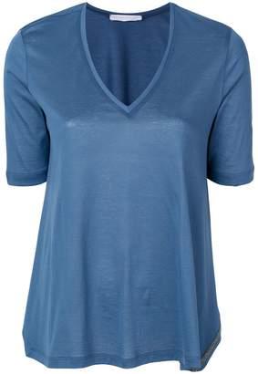 Fabiana Filippi side slits shortsleeved blouse