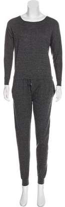 Joie Wool Long Sleeve Jumpsuit