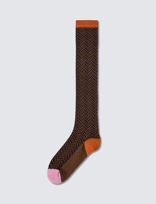 Happy Socks Hysteria By Alma Knee High Socks