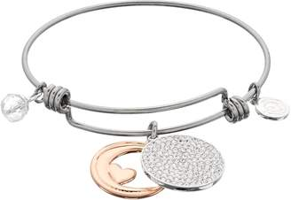 "Love This Life love this life ""I Love You To the Moon and Back"" Bangle Bracelet"