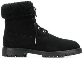 Aquazzura lace up ankle boots