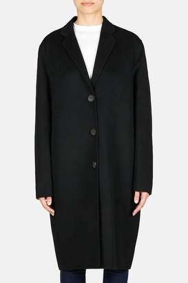 Acne Studios Avalon Cocoon Button Coat - Black