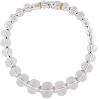Baccarat Crystal and Diamond Sherazade Necklace