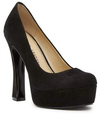 Chinese Laundry Moving On Suede Platform Pump