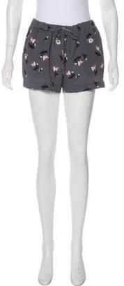 Derek Lam Printed Mini Shorts