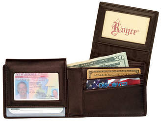 Royce New York Bifold Wallet With Removable Card Case