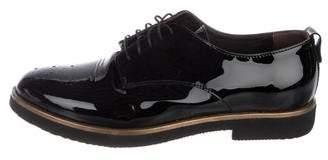 AGL Patent Leather Low-Top Oxfords