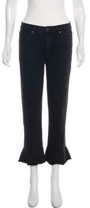 Paige Mid-Rise Flare-Leg Jeans