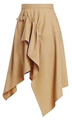 3.1 Phillip Lim Women's Tailored Handkerchief Midi Skirt
