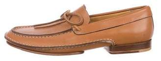 Bruno Magli Leather Dress Loafers