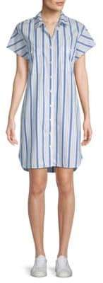 Stateside Pinstripe Shirtdress
