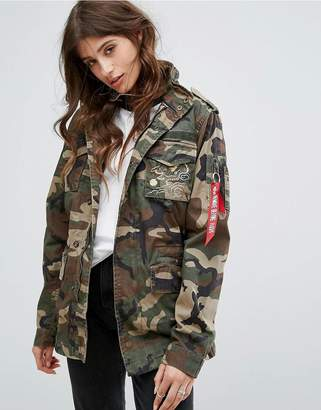 Alpha Industries Huntington Dragon Field Jacket $231 thestylecure.com