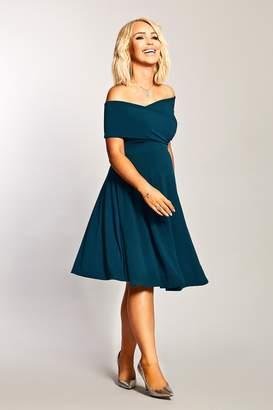 Next Womens Want That Trend Maternity Bardot Midi Dress