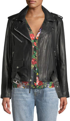 Lee Laurie Leathers Your Loss Biker Leather Jacket