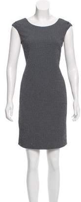 Armani Collezioni Patterned Sheath Dress