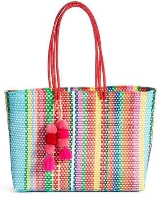 BOUTIQUE MEXICO Large Stella Long Handle Tote