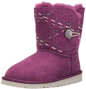UGG Girls Y Bailey Button Tehuano Pull-on Boot