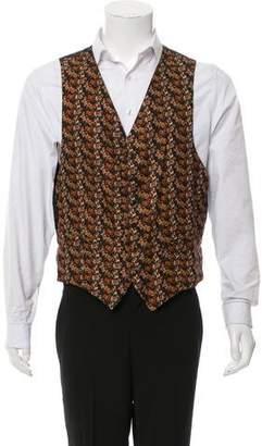 Salvatore Ferragamo Horse-Print Suit Vest