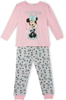 Disney NEW Minnie Mouse Dreamer Pyjamas Pink