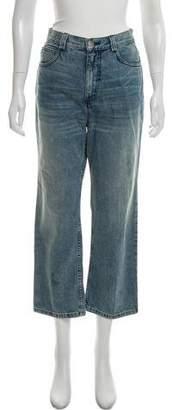 Rachel Comey High-Rise Straight-Leg Jeans