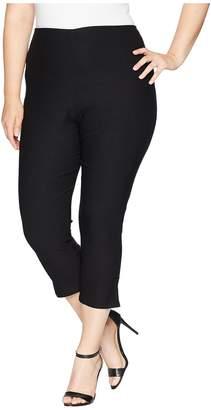 Unique Vintage Plus Size Rachelle Capri Pants Women's Casual Pants