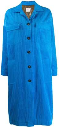 Alysi padded corduroy coat