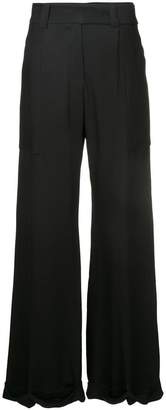 Taylor wide-leg trousers