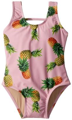 shade critters Pineapple Scoop One-Piece Girl's Swimsuits One Piece