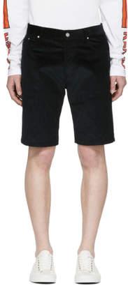 Kenzo Green Corduroy Shorts