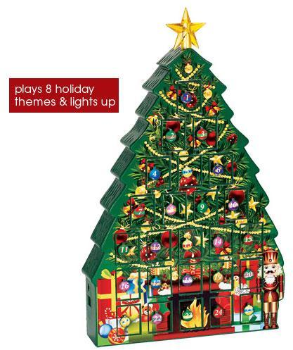 Avon Countdown to Christmas Light-Up Tree