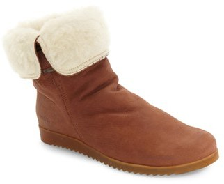 Women's Arche 'Baiwa' Faux Shearling Cuffed Bootie $494.95 thestylecure.com