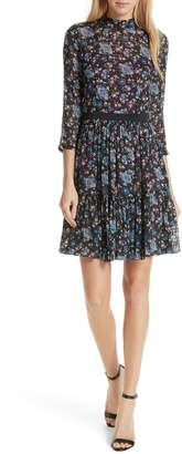 Rebecca Taylor Solstice Silk Blend Dress