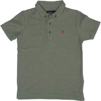 Farah Jeans Boys Blaney Short Sleeve Polo Moss Green Marl