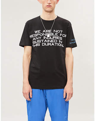 Selfridges Awge Injured Generation A$AP Rocky graphic-print cotton-jersey T-shirt