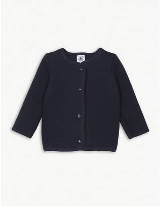 Petit Bateau Quilted cotton cardigan 3-36 months