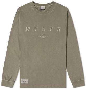Wtaps WTAPS Long Sleeve Design System Tee